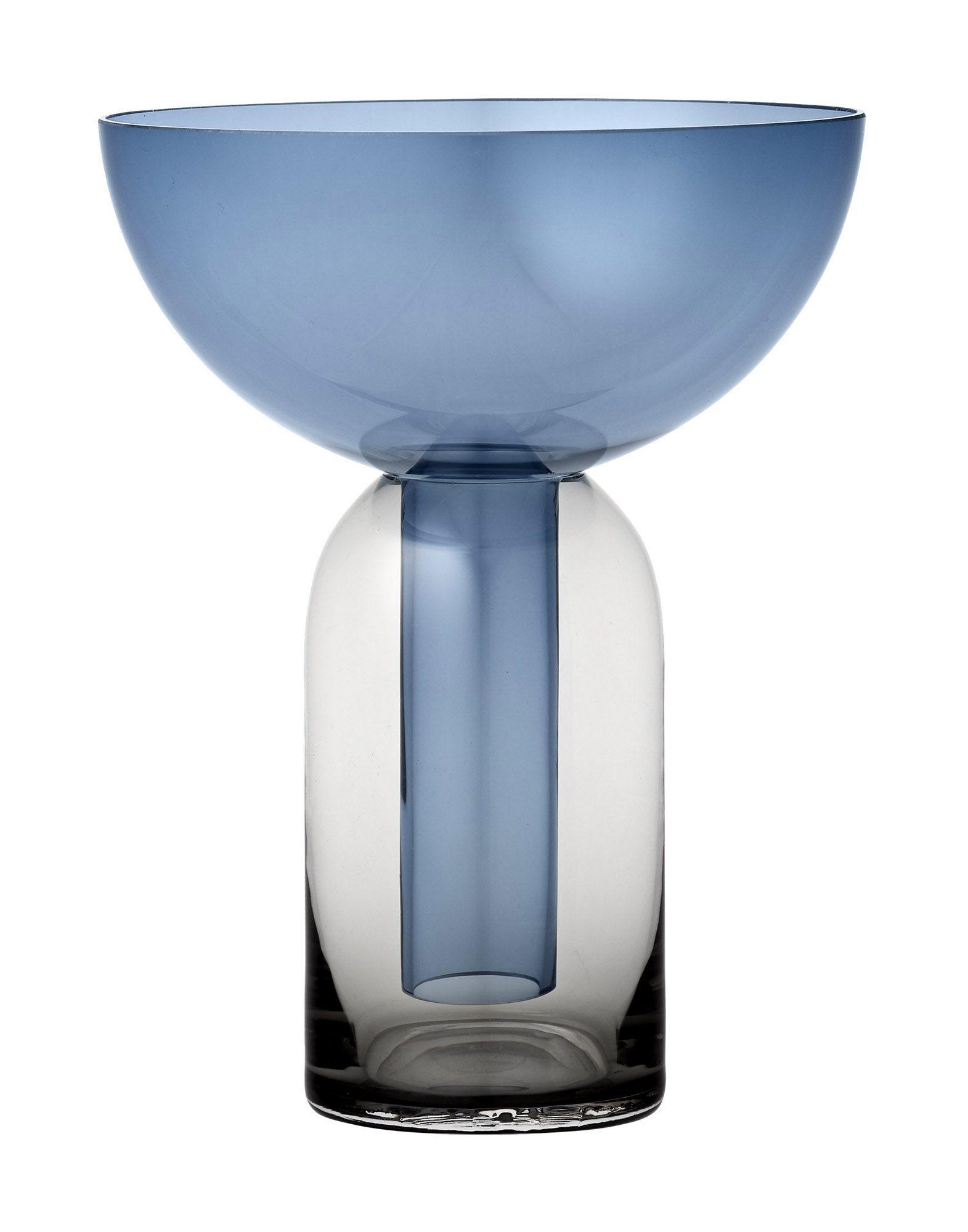 《送料無料》AYTM Unisex ベース ブルー ガラス TORUS