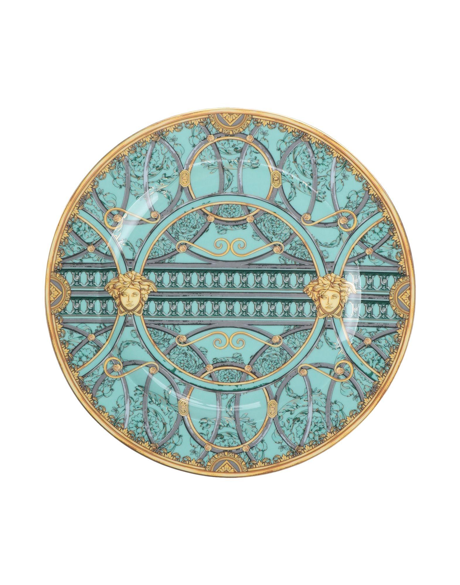 VERSACE Декоративная тарелка тарелка декоративная азбука вегана