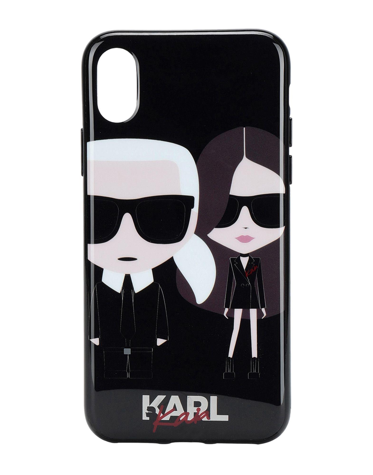 KARL LAGERFELD x KAIA Чехол karl lagerfeld чехол крышка karl lagerfeld case monster для apple iphone 6 силикон черный soft case