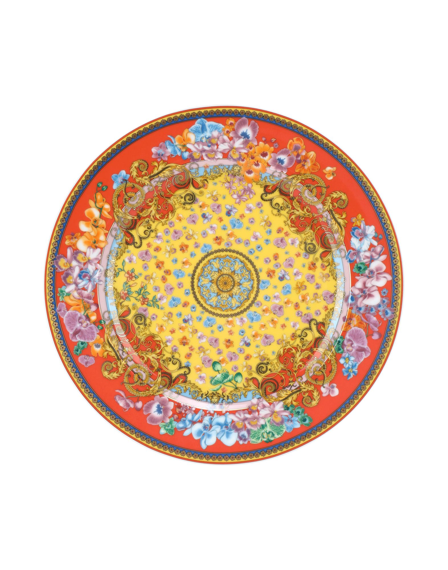 VERSACE Декоративная тарелка seletti wears toiletpaper декоративная тарелка