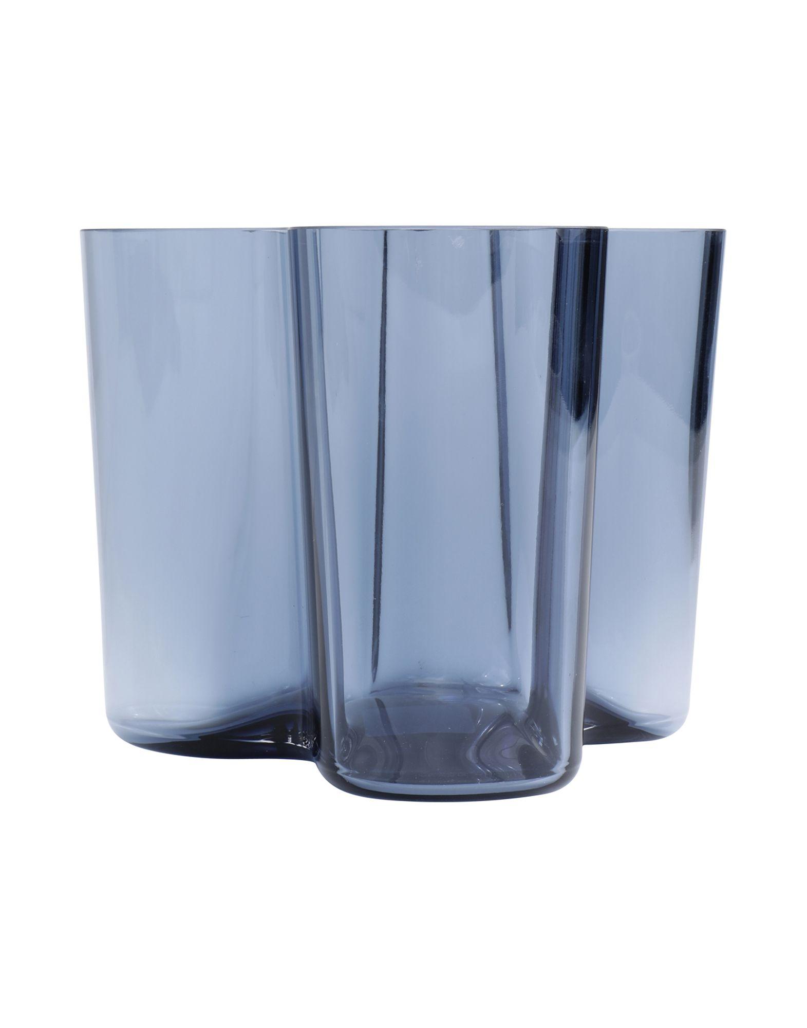 《送料無料》IITTALA Unisex ベース ブルー ガラス Aalto