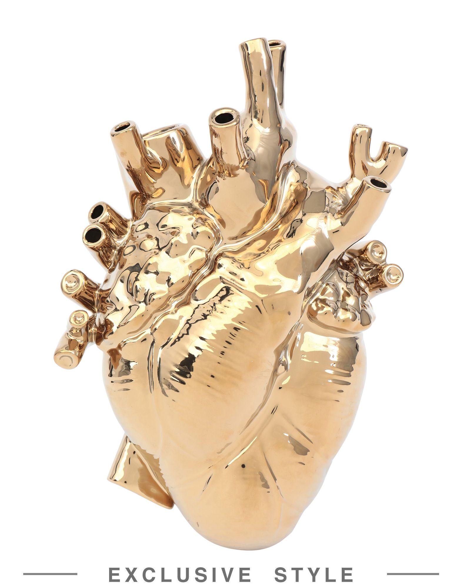 《セール開催中》SELETTI Unisex ベース ゴールド 100% セラミック Love in Bloom Gold