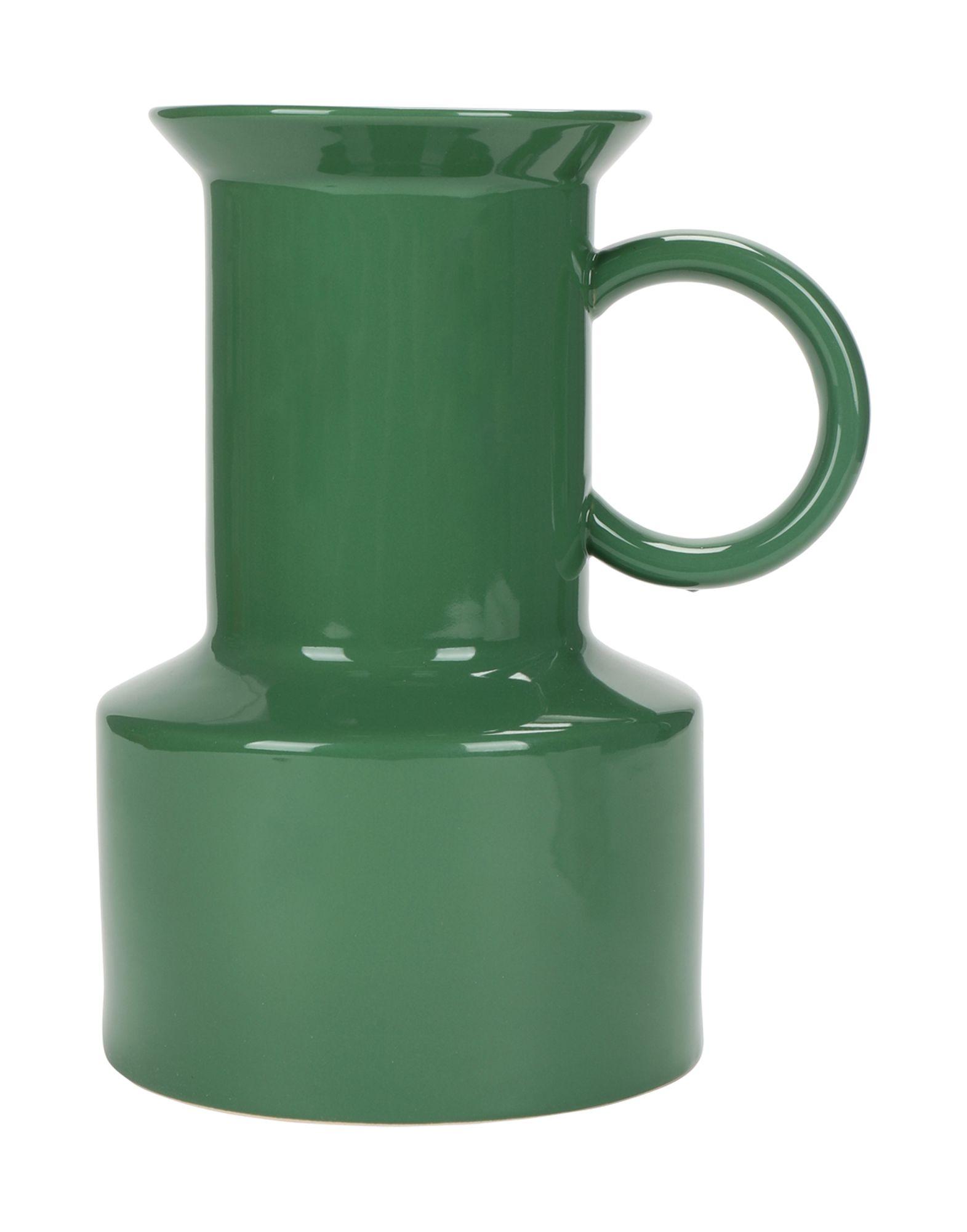 《セール開催中》NORMANN COPENHAGEN Unisex ベース グリーン 100% 陶製 TIVOLI Panto Vase