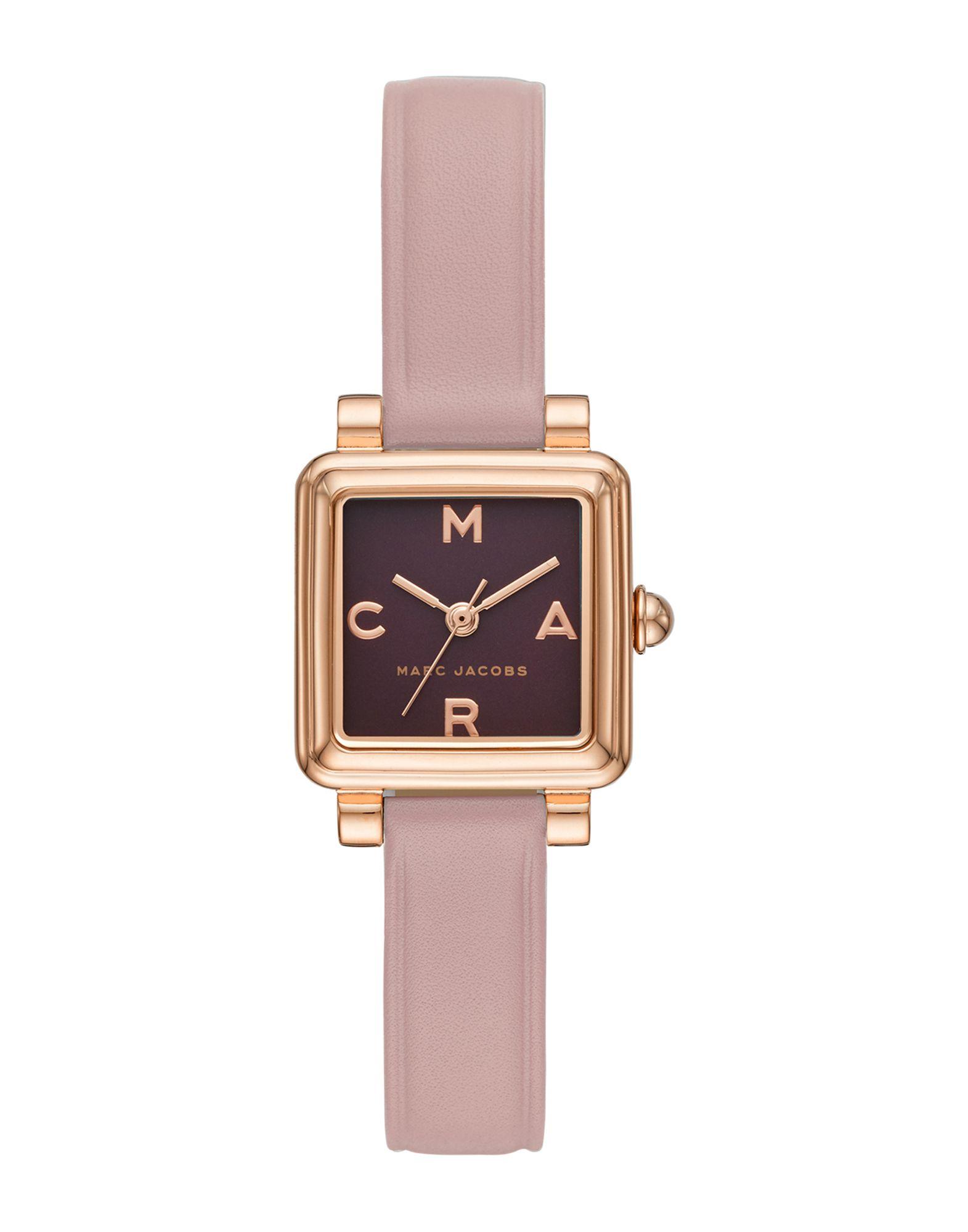 《送料無料》MARC JACOBS レディース 腕時計 ブラック ステンレススチール / 革 MJ1640 VIC