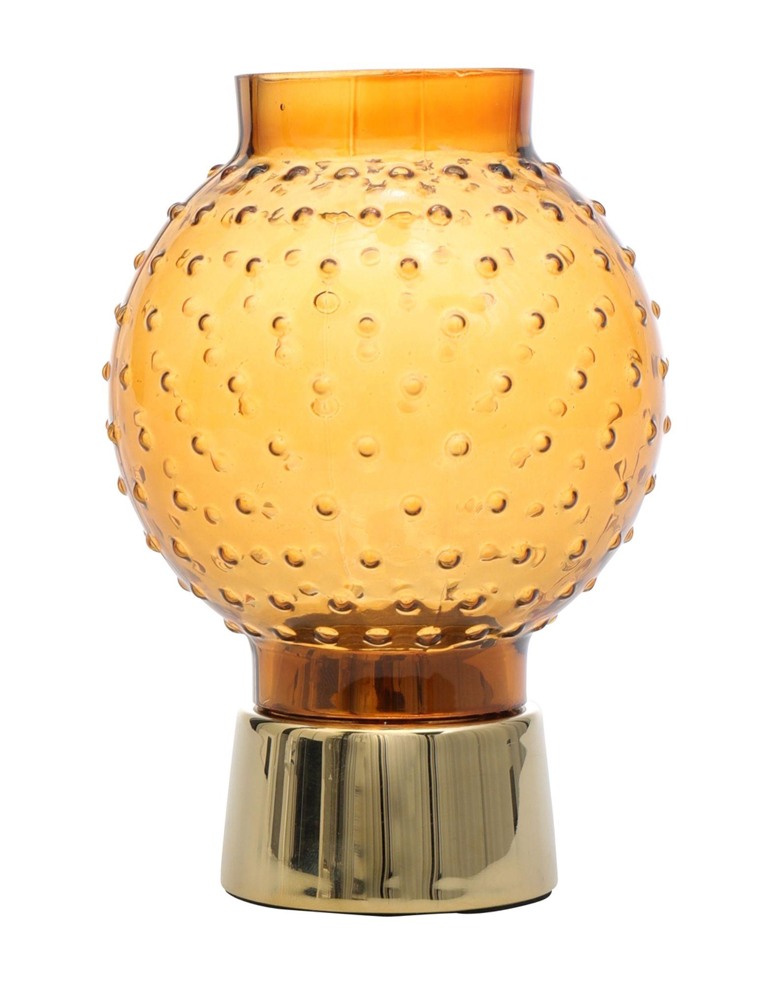 《セール開催中》NORMANN COPENHAGEN Unisex キャンドルスタンド イエロー スチール / ガラス / 真鍮/ブラス TIVOLI Story Tealight