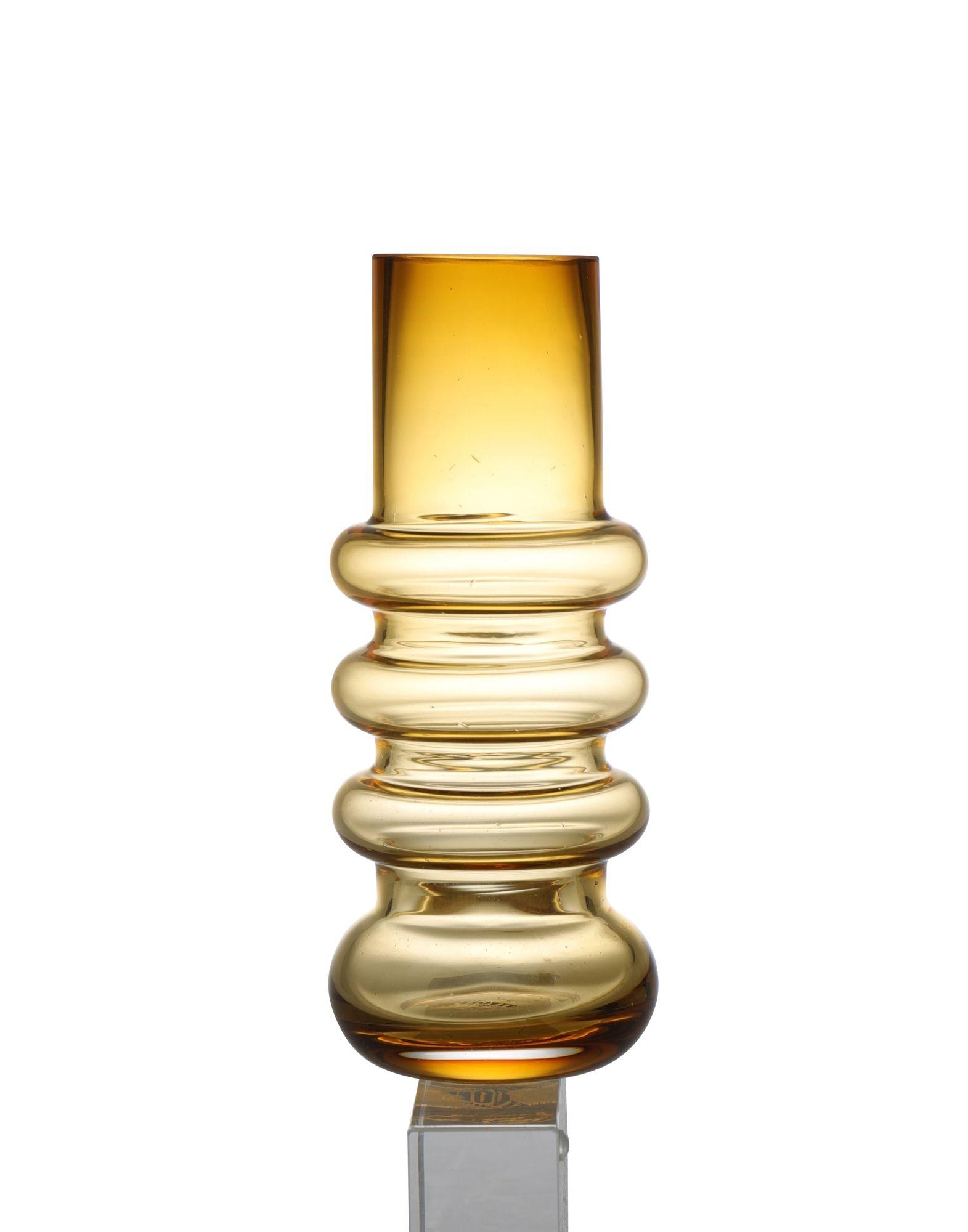 《セール開催中》NORMANN COPENHAGEN Unisex ベース イエロー ガラス TIVOLI Balloon Vase Small