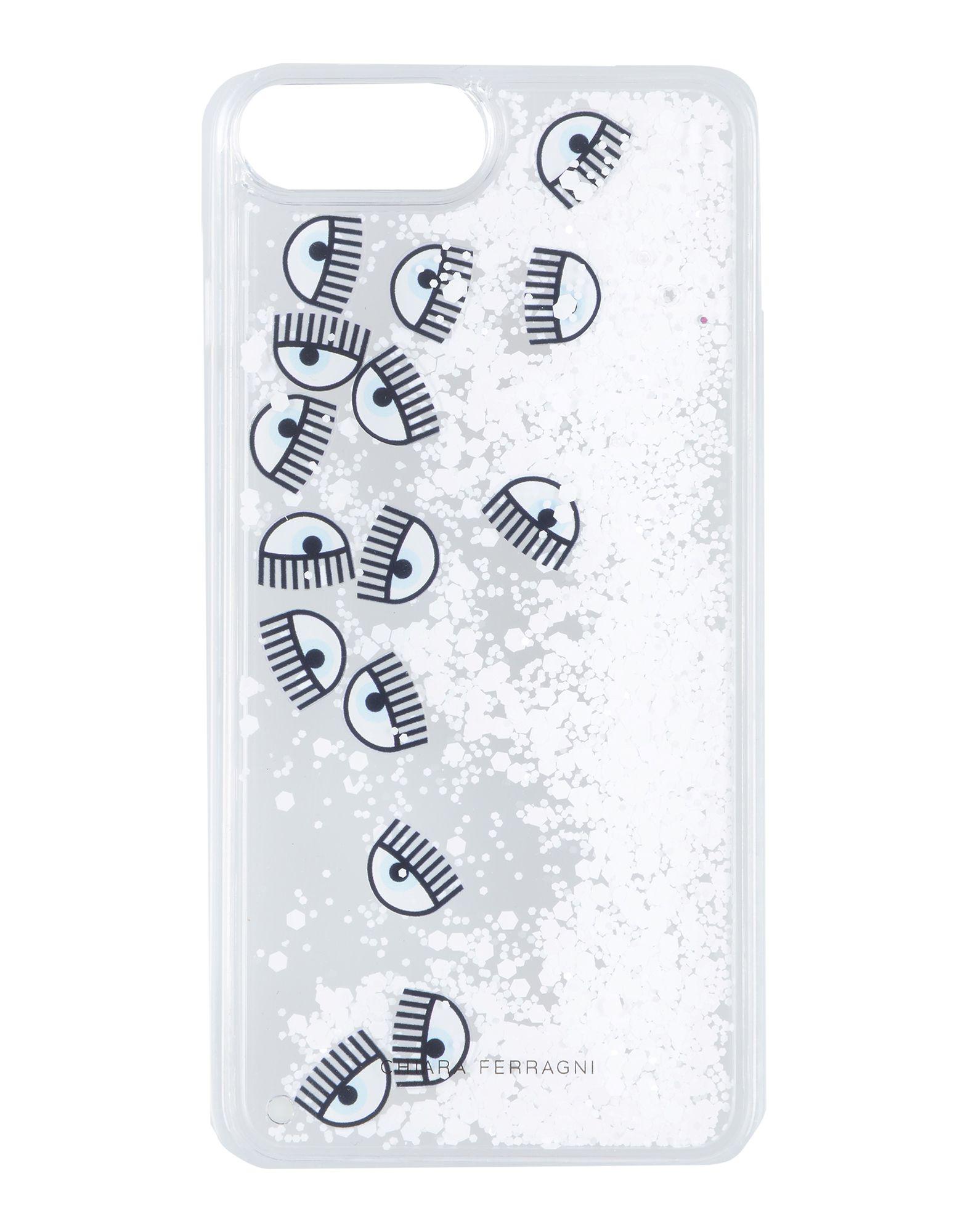 CHIARA FERRAGNI Чехол чехол крышка rf brown marble glossy для iphone 7 plus коричневый