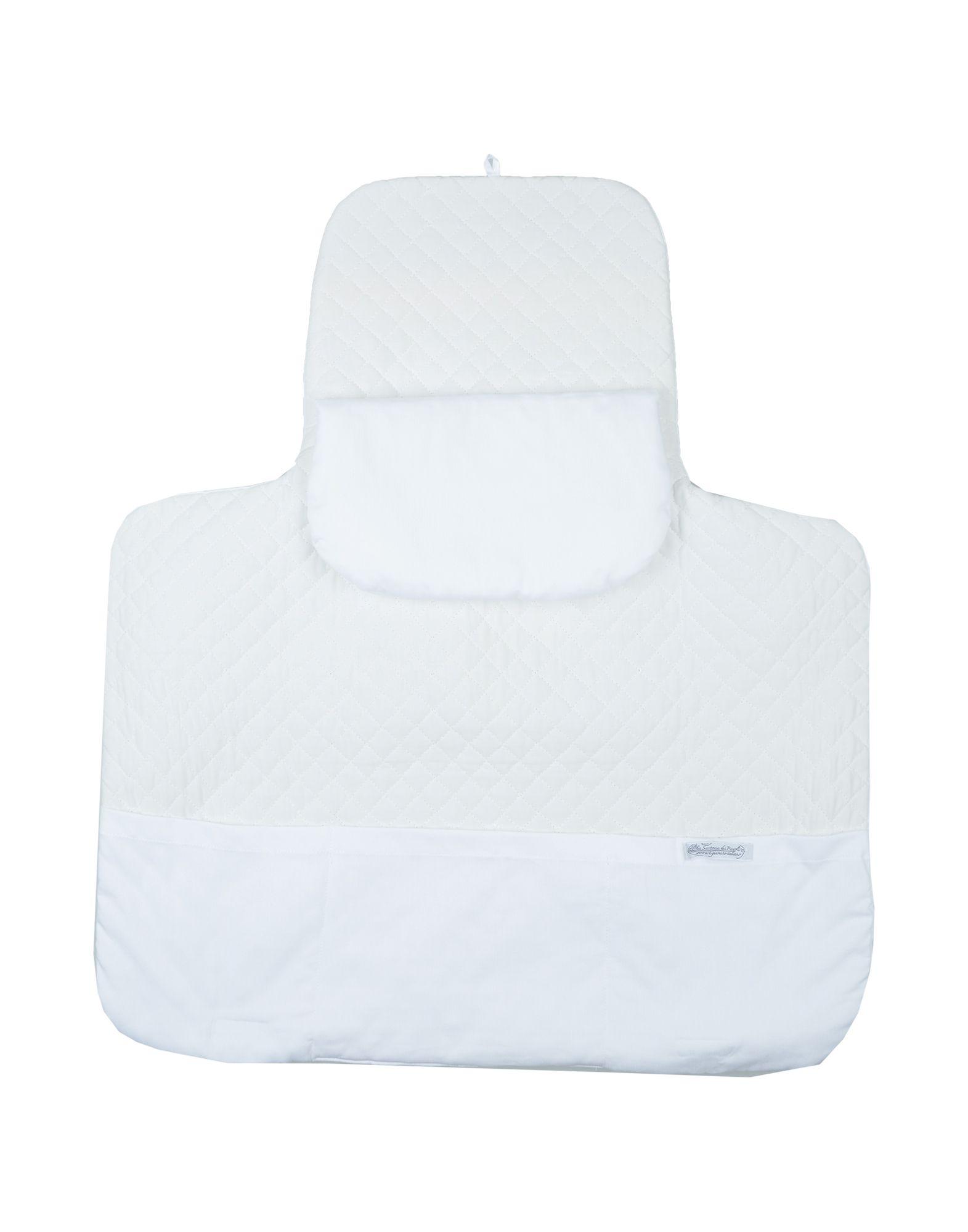 《セール開催中》LA SARTORIA DEI PICCOLI ガールズ 3-8 歳 オムツ替えシート ホワイト 紡績繊維