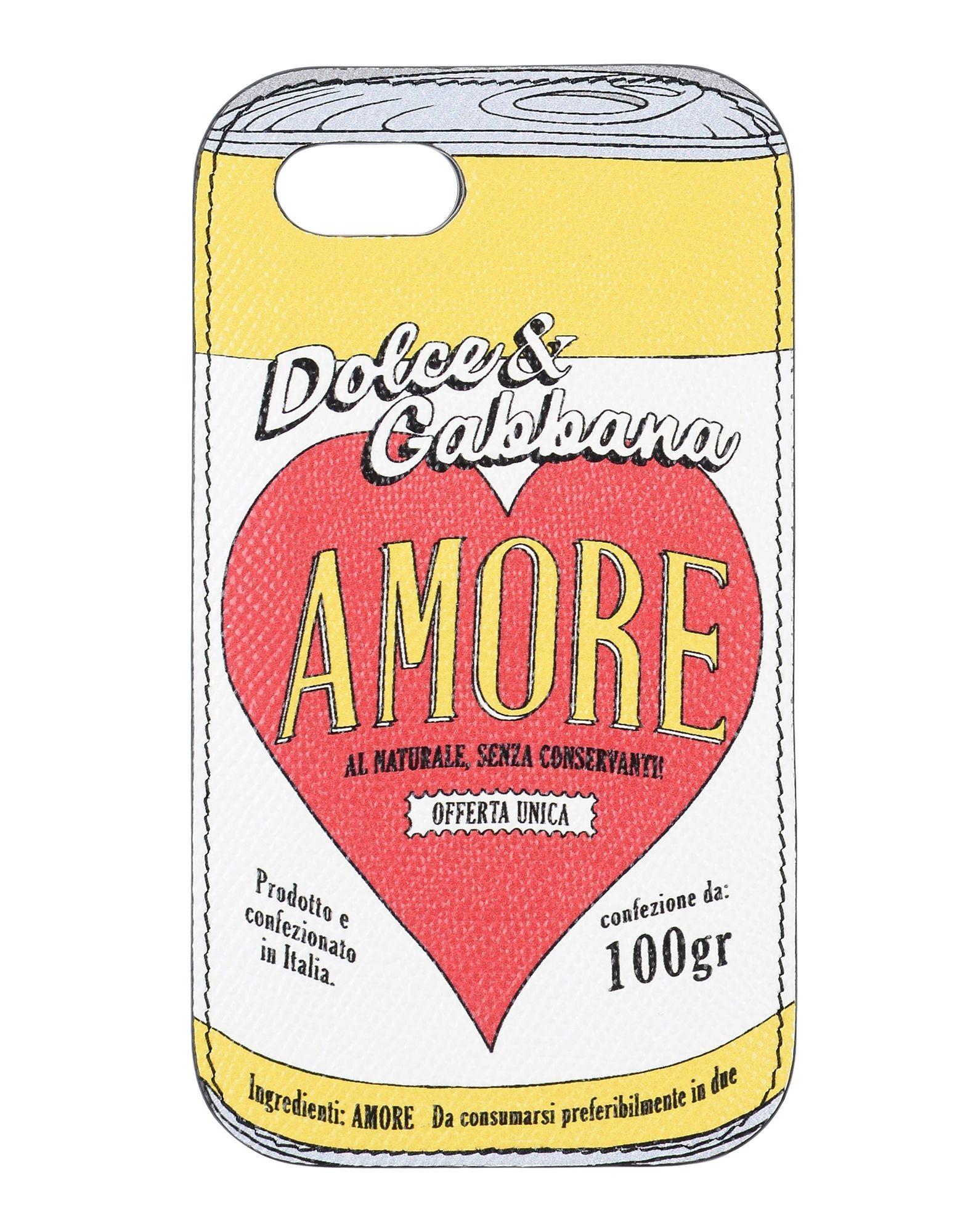 DOLCE & GABBANA ドルチェ & ガッバーナ レディース カバー&ケース ホワイト