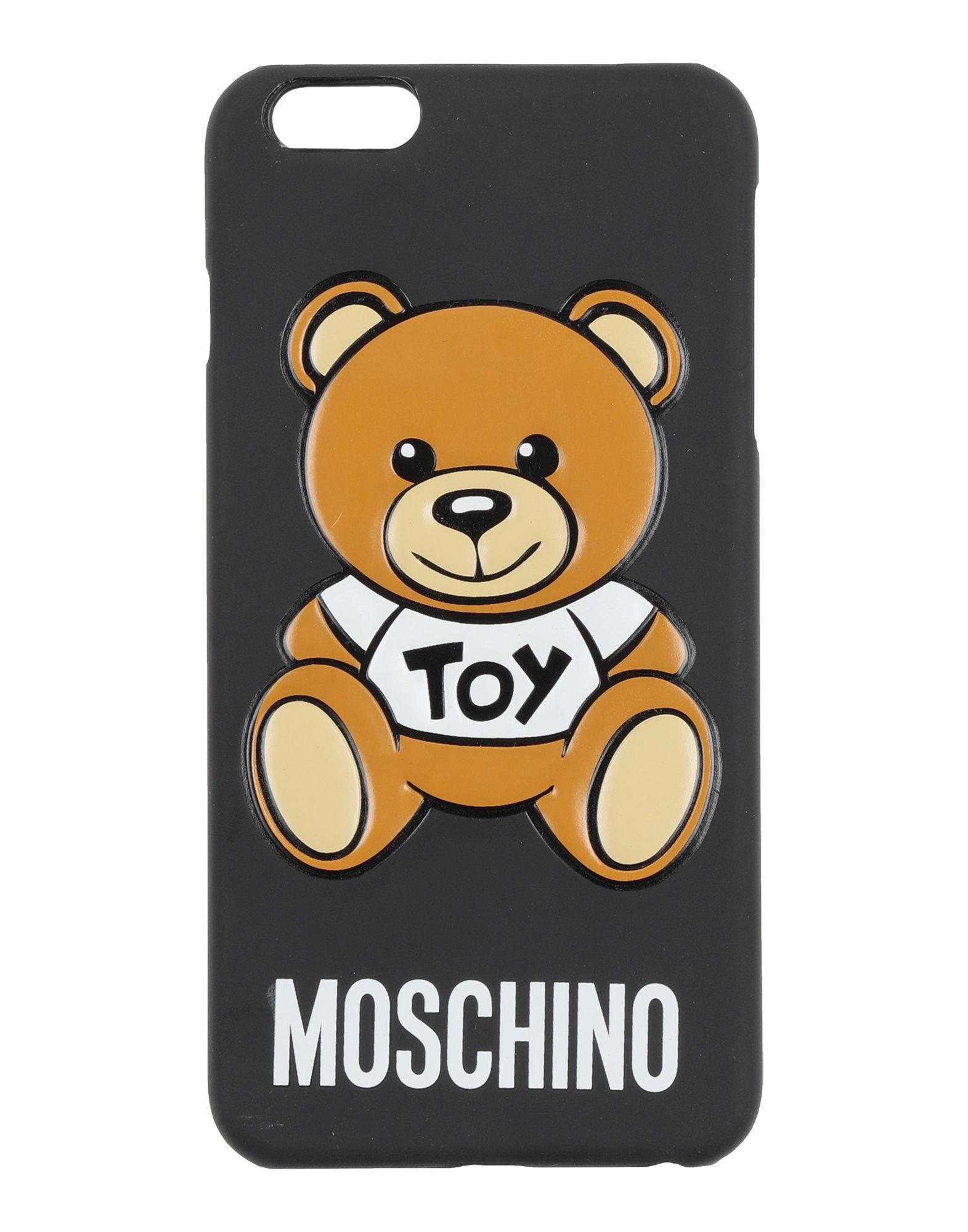 Фото - MOSCHINO Чехол чехол накладка для apple iphone 6 6s deppa gel plus case 85213 pink клип кейс полиуретан