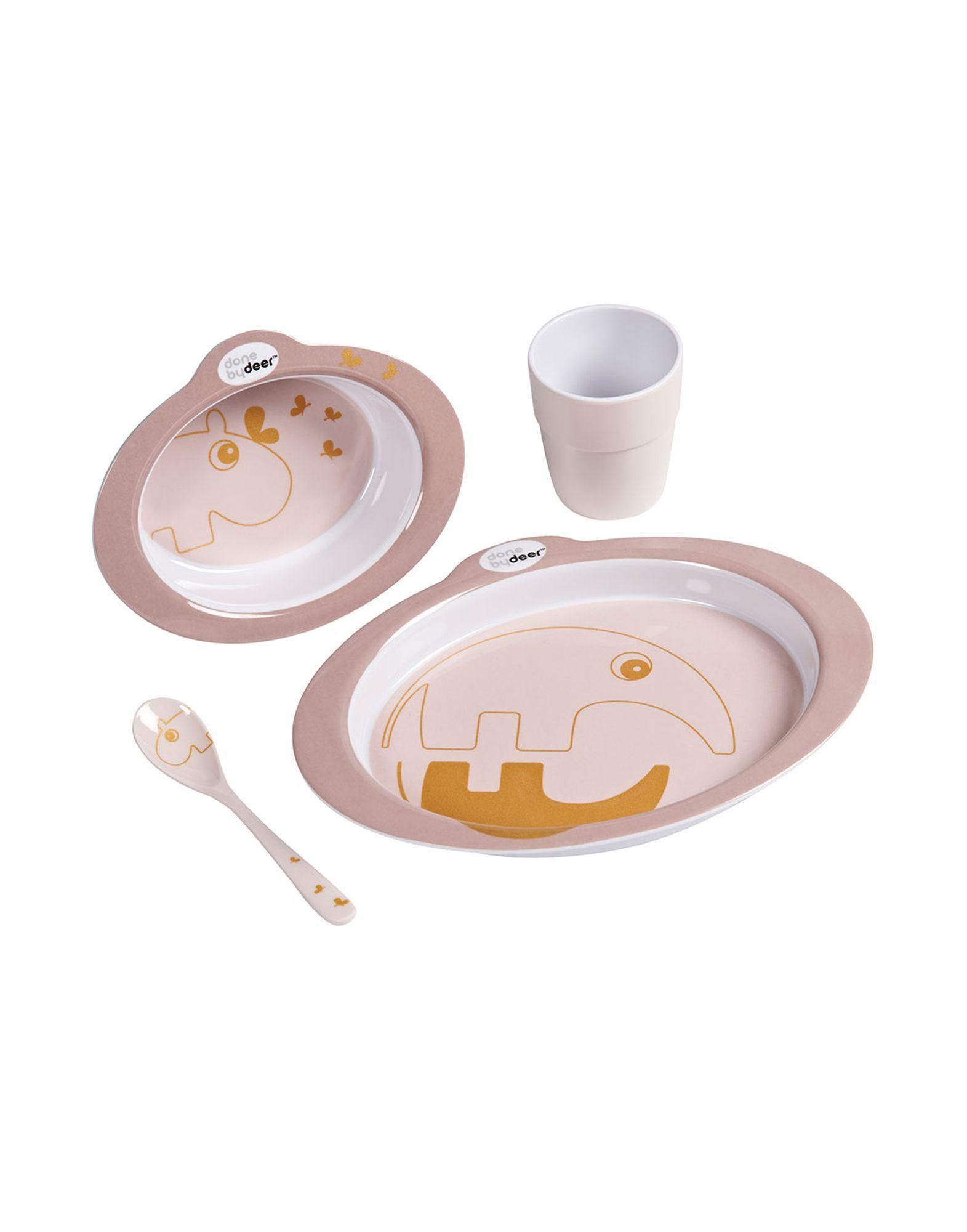 DONE BY DEER Набор для кормления набор для кормления крошка я первый подарок малышу 2849357 7 предметов