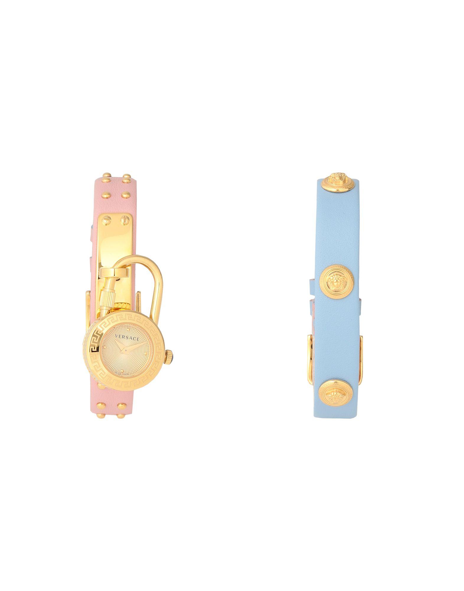 《セール開催中》VERSACE レディース 腕時計 ゴールド ステンレススチール / 牛革(カーフ) MEDUSA LOCK ICON