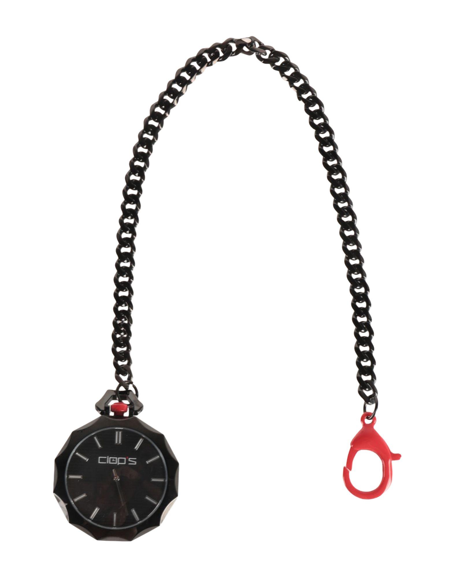 CLOP'S メンズ 懐中時計 ブラック