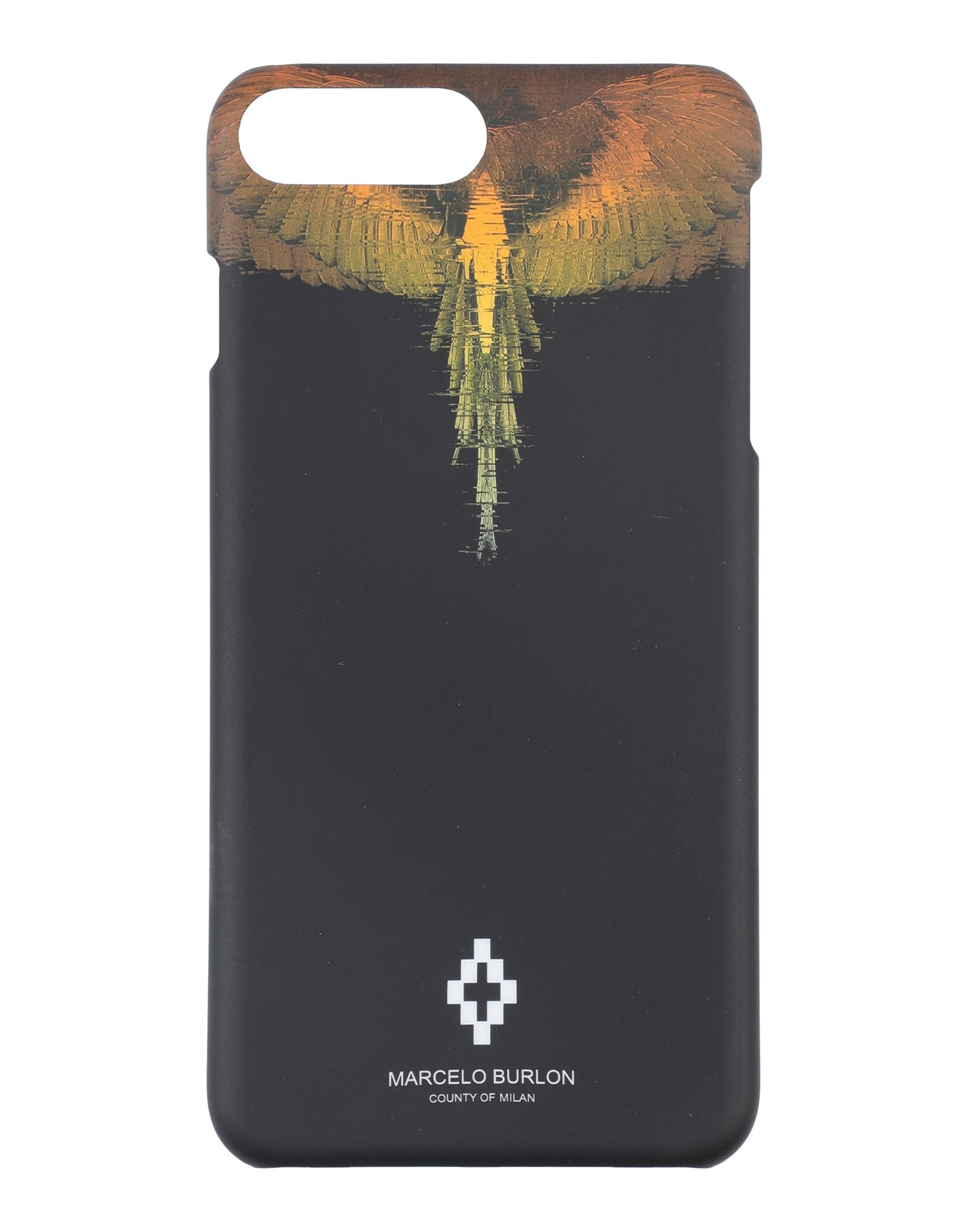 Фото - MARCELO BURLON Чехол кейс для назначение apple iphone 8 iphone 8 plus кейс для iphone 5 iphone 6 iphone 6 plus iphone 7 plus iphone 7 со стендом с окошком флип
