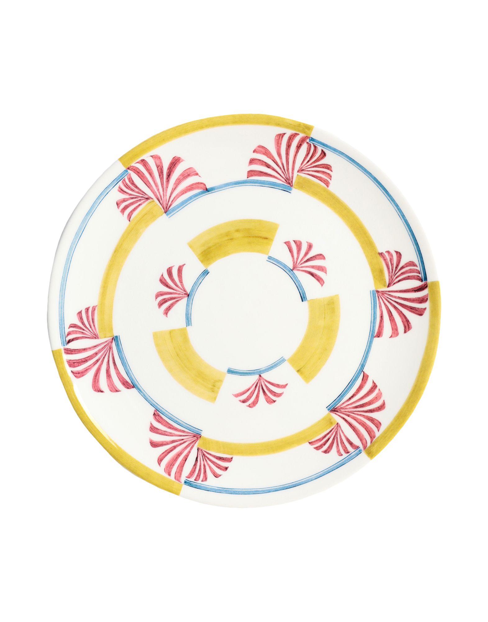 YOOX.COM(ユークス)《セール開催中》LABORATORIO PARAVICINI Unisex オーナメンタルプレート ホワイト 陶製
