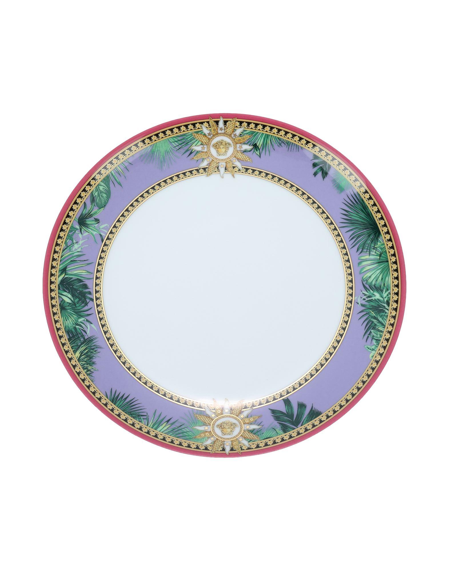 rosenthal selection brillance fleurs sauvages тарелка coup 27 см VERSACE x ROSENTHAL Декоративная тарелка