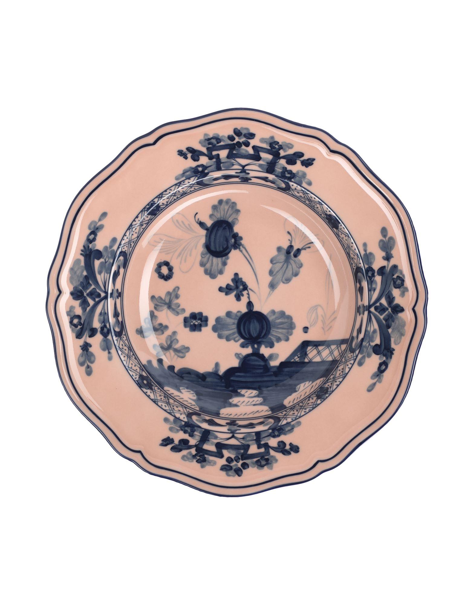 《セール開催中》RICHARD GINORI Unisex オーナメンタルプレート パステルピンク 陶製 ORIENTE ITALIANO Soup plate