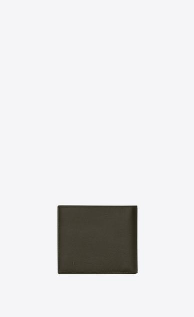 SAINT LAURENT Saint Laurent Paris SLG Man east/west wallet in grain de poudre embossed leather b_V4