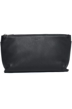RAG & BONE Smooth and textured-leather cosmetics case