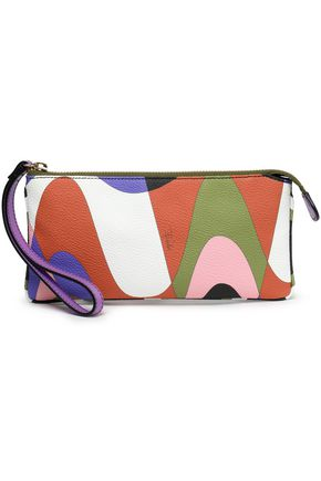 EMILIO PUCCI Printed textured-leather cosmetics case