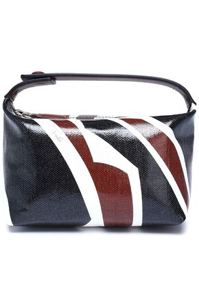 EMILIO PUCCI Leather-trimmed printed coated canvas cosmetics case