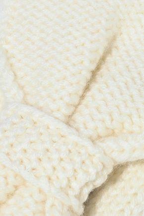 MADELEINE THOMPSON Kathy bow-embellished wool and cashmere-blend headband