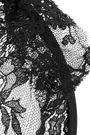 MAISON MICHEL Tina lace veiled headband
