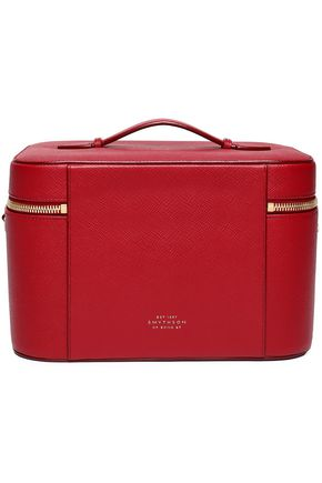 SMYTHSON Textured-leather cosmetics case