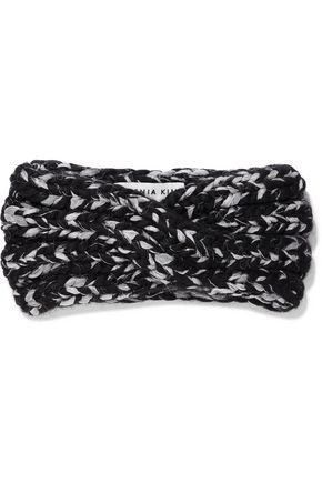 EUGENIA KIM Lula twisted marled wool-blend headband