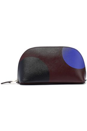 SMYTHSON Kinoly printed leather cosmetics case
