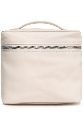 JIL SANDER Leather cosmetics case