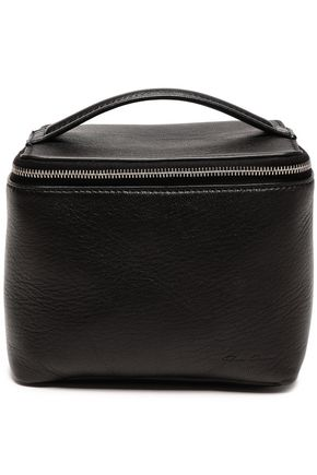 RICK OWENS Textured-leather cosmetics case