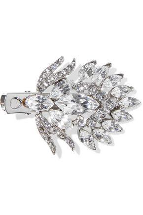 BEN-AMUN Silver-tone crystal hair clip