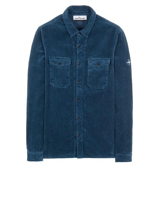 Long sleeve shirt Man 12111 COTTON CORDUROY Front STONE ISLAND
