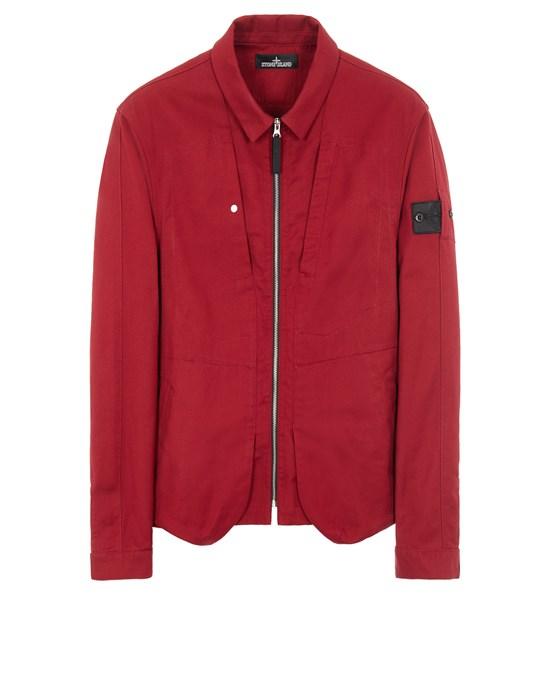STONE ISLAND SHADOW PROJECT 10409 TEXTURED COTTON_CHAPTER 1 Long sleeve shirt Man Garnet