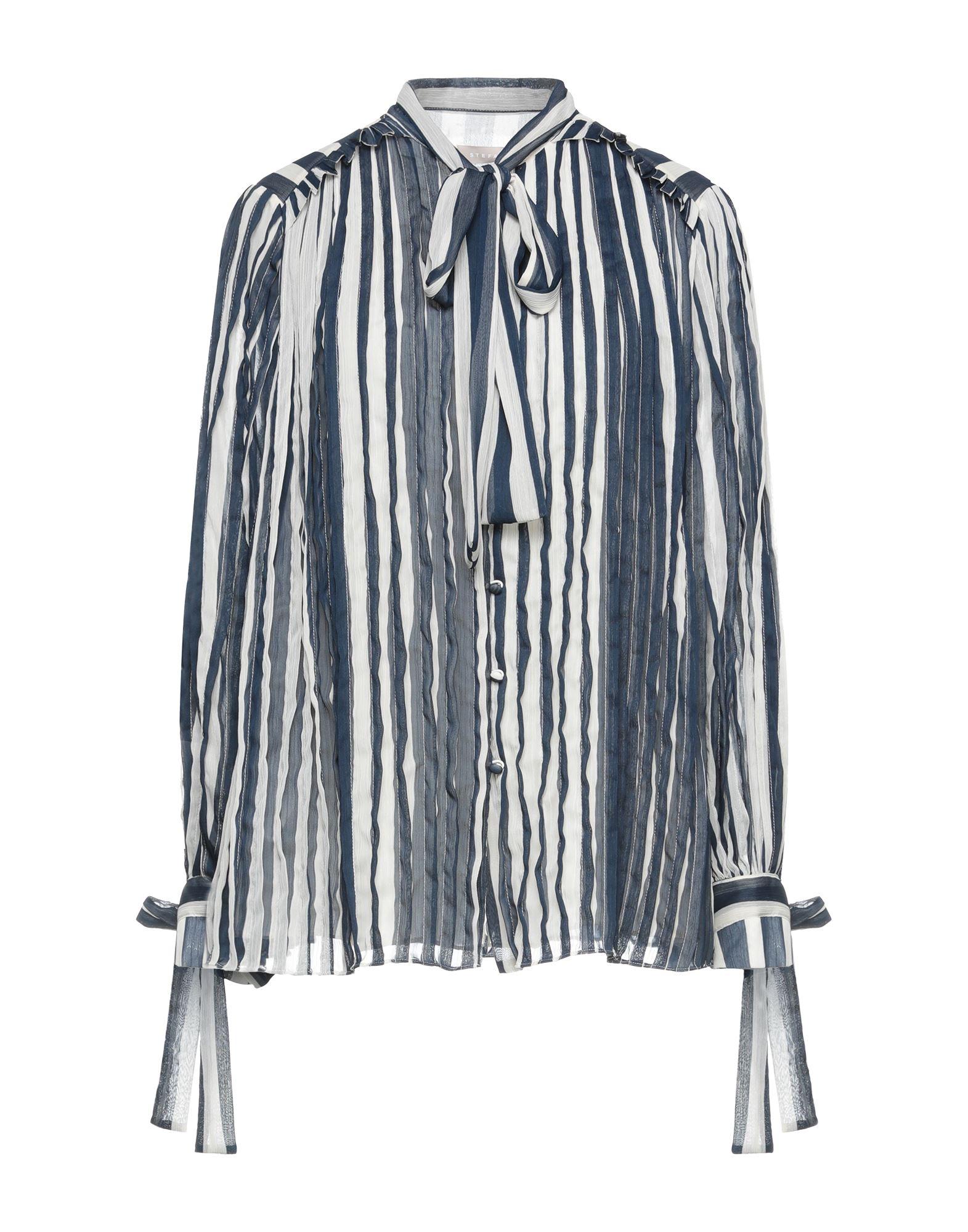 Фото - STEFANEL Pубашка ремень stefanel