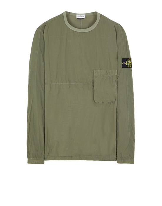 Over Shirt Man 10303 NASLAN LIGHT Front STONE ISLAND