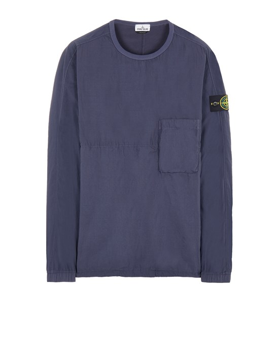 STONE ISLAND 10303 NASLAN LIGHT Over Shirt Herr Ink Blue