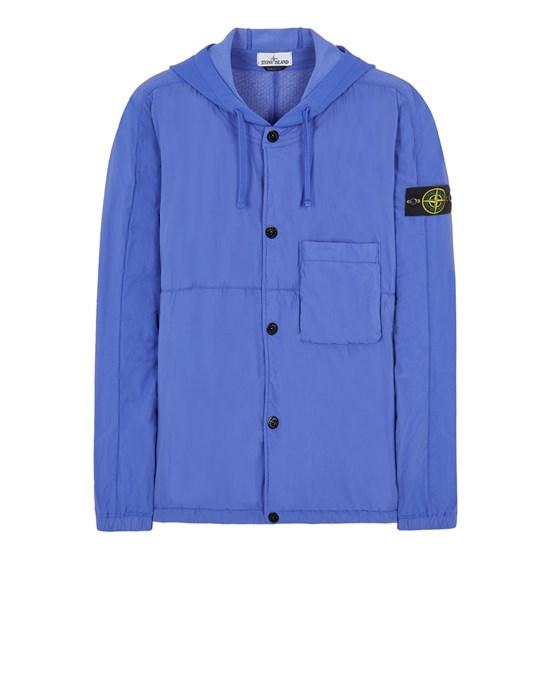 STONE ISLAND 10403 NASLAN LIGHT WITH POLARTEC® ALPHA® TECHNOLOGY Over Shirt Herr Blauviolett