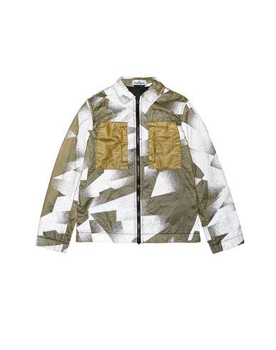 STONE ISLAND JUNIOR Over Shirt Man 10135 S.I.DAZZLE REFLECTIVE CAMOUFLAGE ON LAMY-TC  f