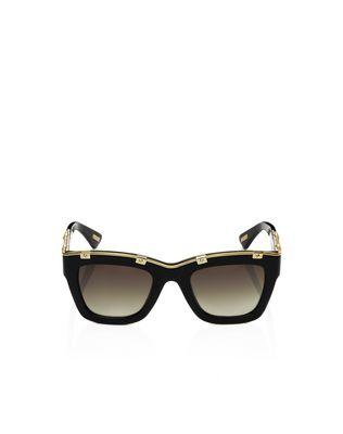Squared frame sunglasses