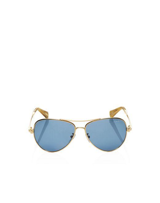 lanvin pilot frame sunglasses women