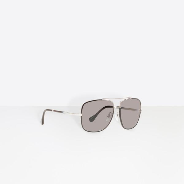 6906dbbf71f0f5 Soleil De Marron Femme Balenciaga lunettes Homme Lunette ACqIt