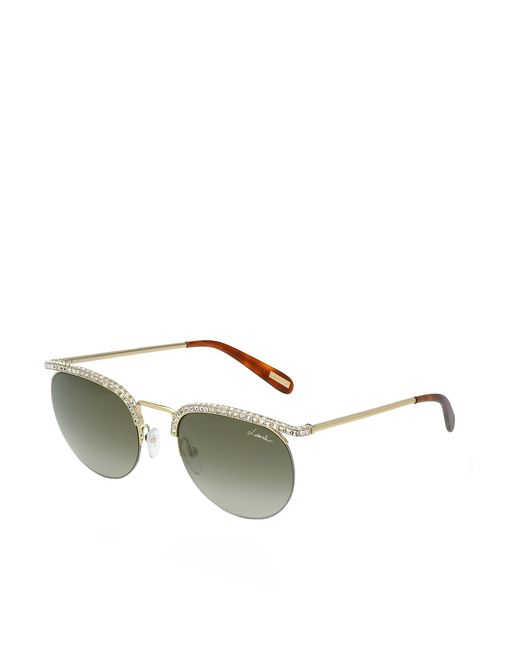 lanvin round frame sunglasses women