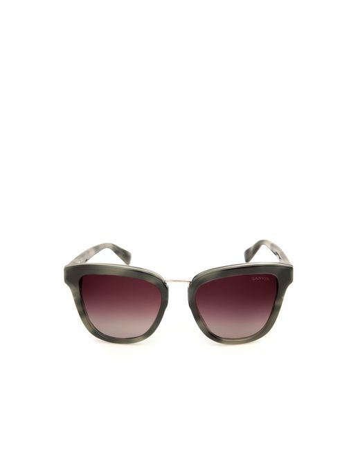 lanvin square sunglasses women
