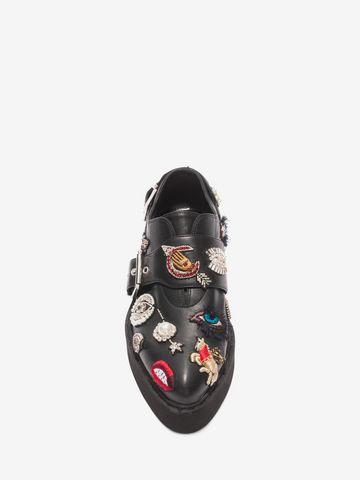 How To Wear Flatform Monk Shoe