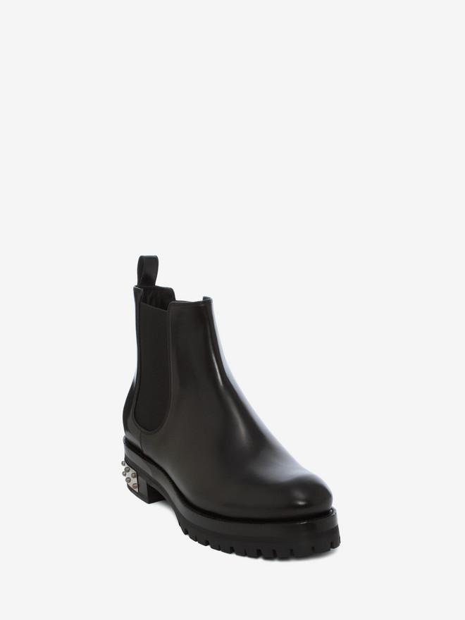 ALEXANDER MCQUEEN Mod Boot CHELSEA BOOT Woman r