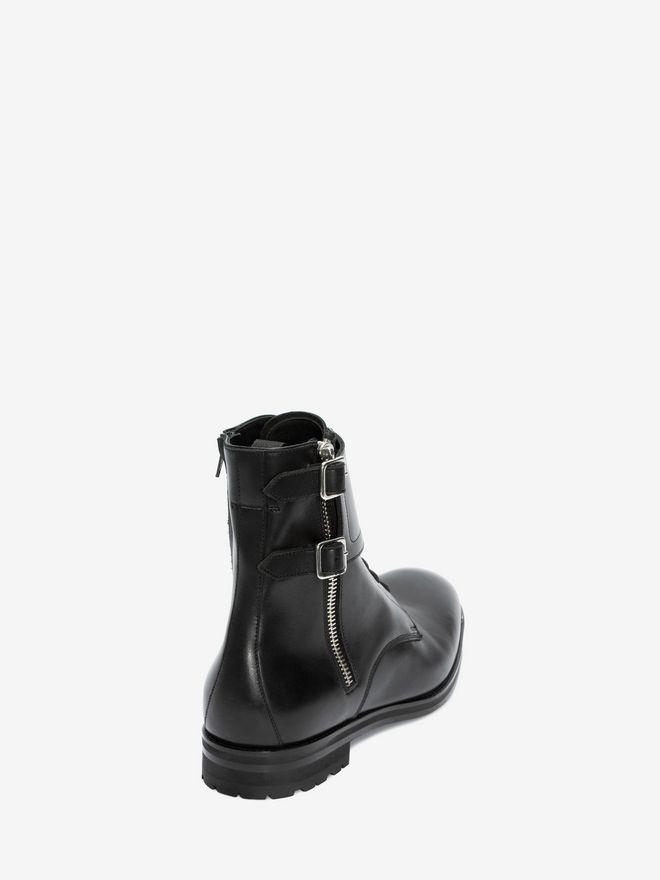 ALEXANDER MCQUEEN Double Buckle Boot Boots Man d
