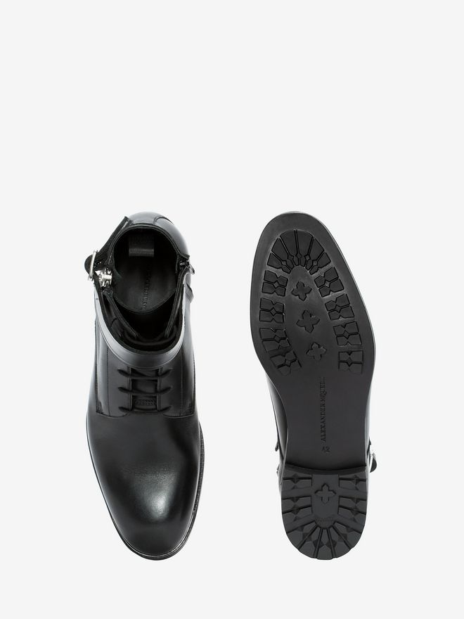 ALEXANDER MCQUEEN Double Buckle Boot Boots Man e