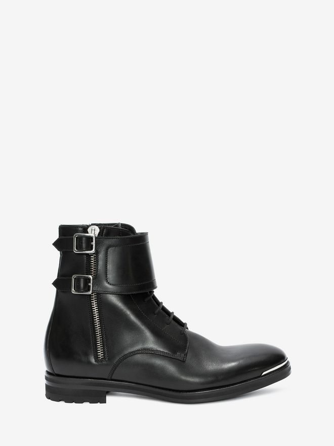 ALEXANDER MCQUEEN Double Buckle Boot Boots Man f
